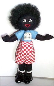 "Gollyfest 2004 Event golly ""Gollywoggs Bicycle Club"". LE of 20, 8"" tall."